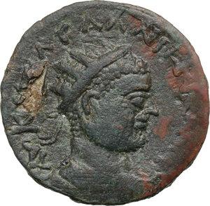 obverse: Gallienus (253-268).AE 30 mm. Epiphaneia mint(?) (Cilicia)