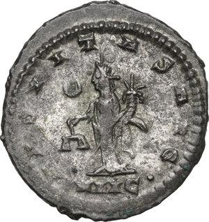 reverse: Salonina, wife of Gallienus (died 268 AD).BI Antoninianus, Antioch mint