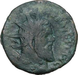 obverse: Postumus (259-268).AE (Double?) Sestertius, Lugdunum mint