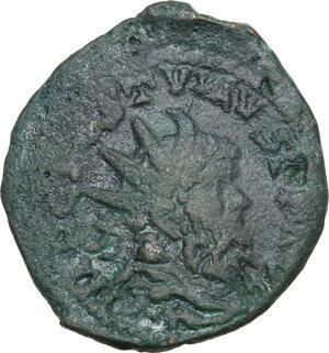obverse: Postumus (259-268).Barbarous AE 25 mm. Celtic Danubian mint (?)