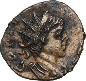 obverse: Tetricus II (Caesar, 270-273).BI Antoninianus, Colonia Agrippinensis mint