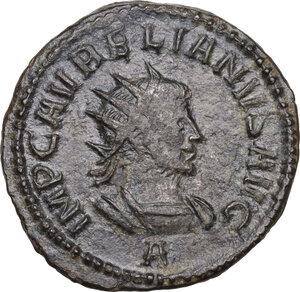obverse: Aurelian, with Vabalathus (270-275). BI Antoninianus, Antioch mint