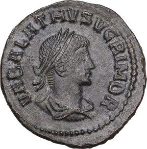 reverse: Aurelian, with Vabalathus (270-275). BI Antoninianus, Antioch mint