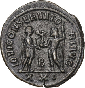 reverse: Diocletian (284-305 AD).BI Antoninianus, Antioch mint, 284 AD