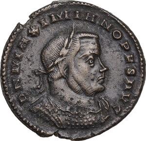 obverse: Maximian (286-310 AD).AE Follis, Lugdunum mint