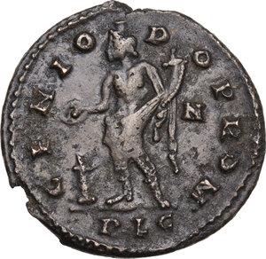 reverse: Maximian (286-310 AD).AE Follis, Lugdunum mint