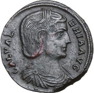 obverse: Galeria Valeria, wife of Galerius (died 315 AD).AE Follis, Antioch mint