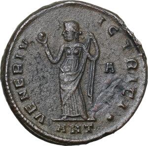 reverse: Galeria Valeria, wife of Galerius (died 315 AD).AE Follis, Antioch mint