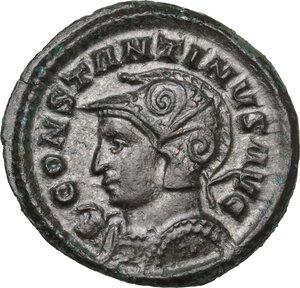 obverse: Constantine I (307-337).AE Reduced Follis, Londinium mint, 313-314 AD