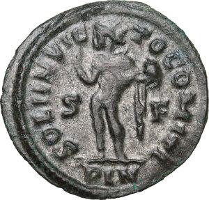 reverse: Constantine I (307-337).AE Reduced Follis, Londinium mint, 313-314 AD