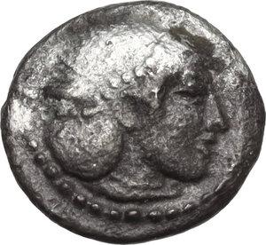 obverse: Syracuse. Hieron I (478-466 BC).AR Obol, struck circa 475-470 BC