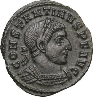 obverse: Constantine I (307-337).AE Follis, Ticinum mint