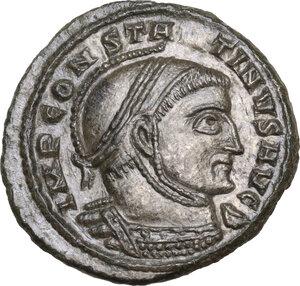 obverse: Constantine I (307-337).AE Follis, Siscia mint, c. 318-319 AD