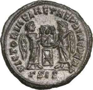 reverse: Constantine I (307-337).AE Follis, Siscia mint, c. 318-319 AD