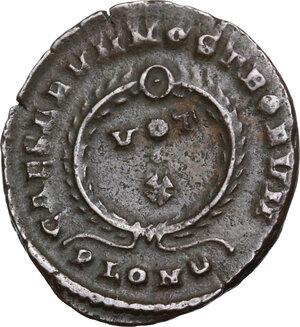 reverse: Crispus (Caesar, 317-326).AE Follis, Londinium mint