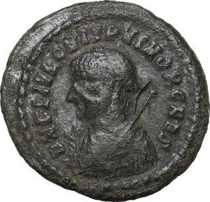 obverse: Crispus (Caesar, 317-326).AE Follis, Heraclea mint