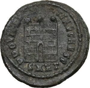 reverse: Crispus (Caesar, 317-326).AE Follis, Heraclea mint
