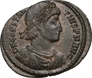 obverse: Constantius II (337-361).AE 25 mm. Constantinople mint
