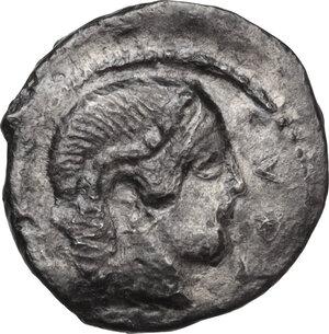 obverse: Syracuse. Second Democracy (466-405 BC).AR Litra, 460-450 BC