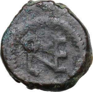 reverse: Leo I (457-474).AE Nummus, uncertain mint