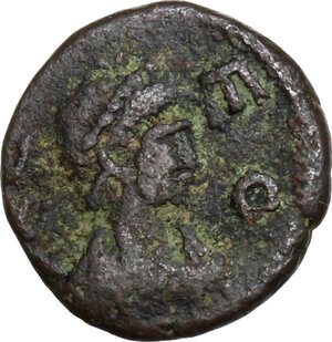 obverse: Leo I (457-474).AE Nummus, Cyzicus (?) mint