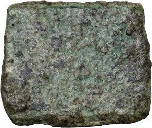 reverse: AE Tessera, 1st-3rd century AD
