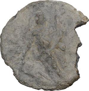 obverse: The Roman Empire.PB Tessera, 1st-3rd cent. AD