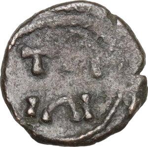 reverse: Vandals (?) Uncertain. Imitative AE Nummus, 5th century BC