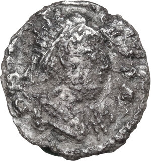 obverse: Ostrogothic Italy, Athalaric (526-534).AR 1/4 Siliqua in the name of Justinian I, Ravenna mint