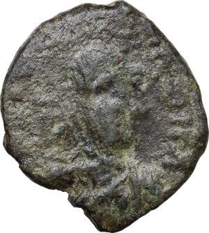 obverse: Ostrogothic Italy, Athalaric (526-534).AE 40 Nummi (Follis), Rome mint