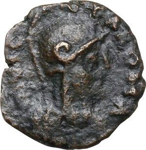 obverse: Ostrogothic Italy. Athalaric (526-534).AE Pentanummium, Rome mint