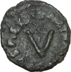 reverse: Ostrogothic Italy, Athalaric (526-534).AE Pentanummium. Ravenna mint
