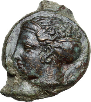 obverse: Syracuse. Second Democracy (466-405 BC).AE 17 mm, 415-405 BC