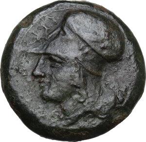 obverse: Syracuse. Dionysios I to Dionysios II.AE Litra, c. 375-344 BC