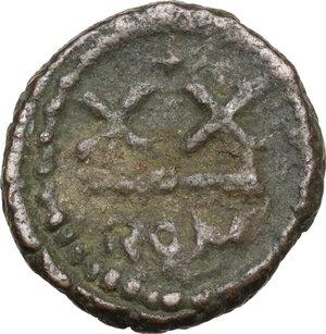 reverse: Heraclius (610-641).AE Half Follis, Rome mint
