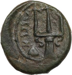 reverse: Syracuse. AE Onkia, 4th century BC