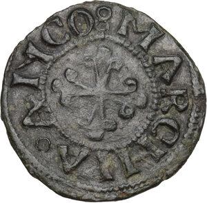 reverse: Ancona. Paolo II (1464-1471), Pietro Barbo. Picciolo