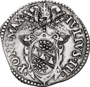 obverse: Ancona. Giulio III (1550-1555), Giovanni Maria de  Ciocchi del Monte.Giulio