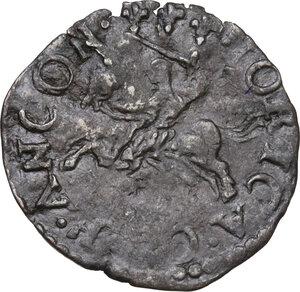 reverse: Ancona. Sisto V (1585-1590), Felice Peretti. Baiocco