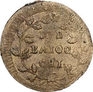 reverse: Ancona. Repubblica Romana (1798-1799).2 Baiocchi