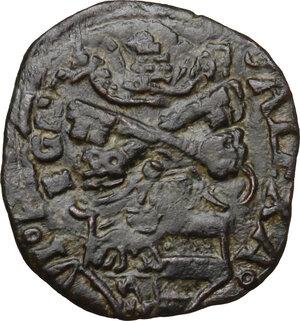 obverse: Ascoli. Alessandro VI (1492-1503), Rodrigo de Borja.Quattrino