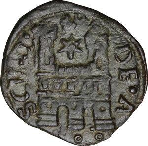 reverse: Ascoli. Alessandro VI (1492-1503), Rodrigo de Borja.Quattrino