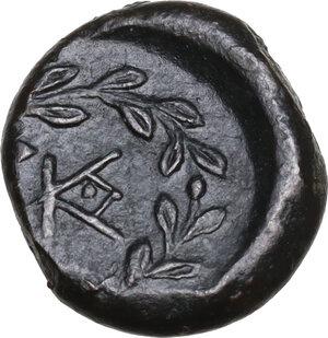 reverse: Tauromenion. Campanian Mercenaries, c. 354-344 BC.AE 12.5 mm