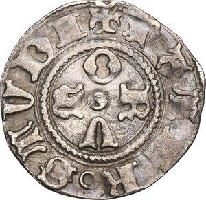reverse: Bologna. Repubblica (1376-1401). Bolognino