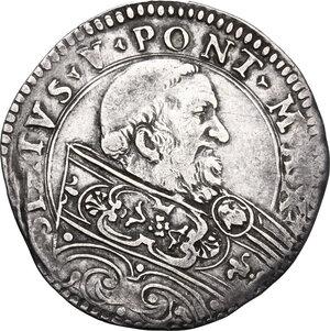 obverse: Bologna. Sisto V (1585-1590), Felice Peretti.Bianco