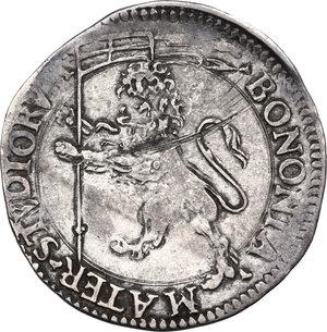 reverse: Bologna. Sisto V (1585-1590), Felice Peretti.Bianco