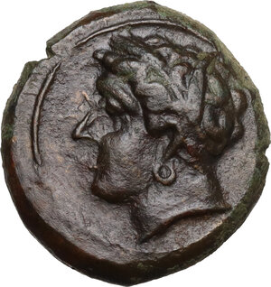 obverse: Uncertain mint. AE 16 mm. c. 400-350 BC