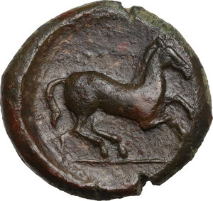 reverse: Uncertain mint. AE 16 mm. c. 400-350 BC