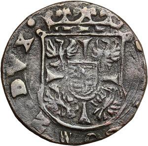 obverse: Bozzolo. Scipione Gonzaga (1613-1670). Soldo