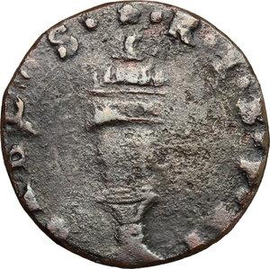 reverse: Bozzolo. Scipione Gonzaga (1613-1670). Soldo
